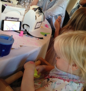Our bride and groom provided this amazing activity pack for each child. Along with the occasional help of Mr Tablet, Lara was occupied throughout the whole meal!